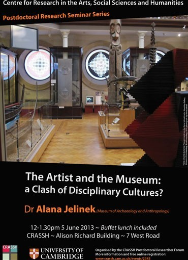 The Artist and the Museum: a Clash of Disciplinary Cultures?