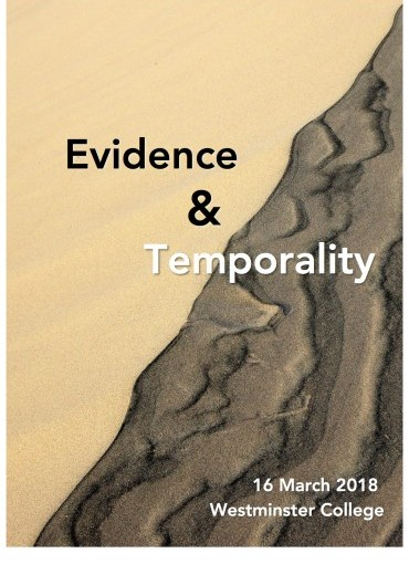 Evidence and  Temporality Workshop (to be held in a non University venue)