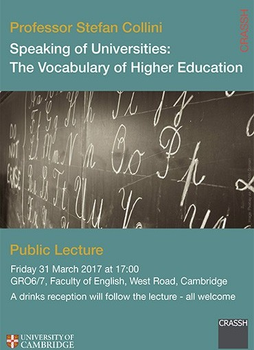 Speaking of Universities: The Vocabulary of Higher Education