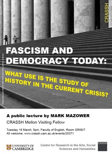 Fascism and Democracy Today: What Use is the Study of History in the Current Crisis?