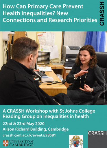 How Can Primary Care Prevent Health Inequalities? New Connections and Research Priorities