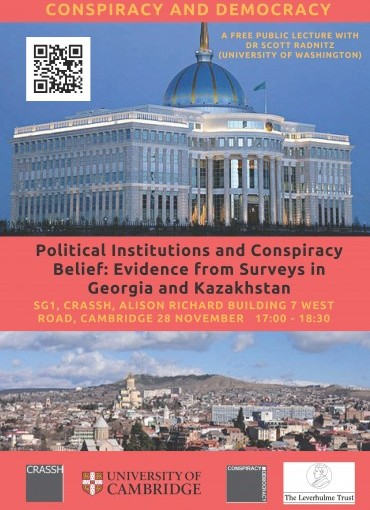 Political Institutions and Conspiracy Belief: Evidence from Surveys in Georgia and Kazakhstan