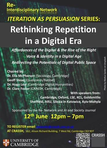 Rethinking Repetition in a Digital Age