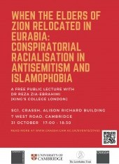 When the Elders of Zion relocated in Eurabia: Conspiratorial racialisation in antisemitism and Islam