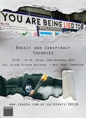 Public Launch: Brexit and Conspiracy Theories