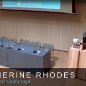 Catherine Rhodes – Introduction to the 2018 Cambridge Conference on Catastrophic Risk