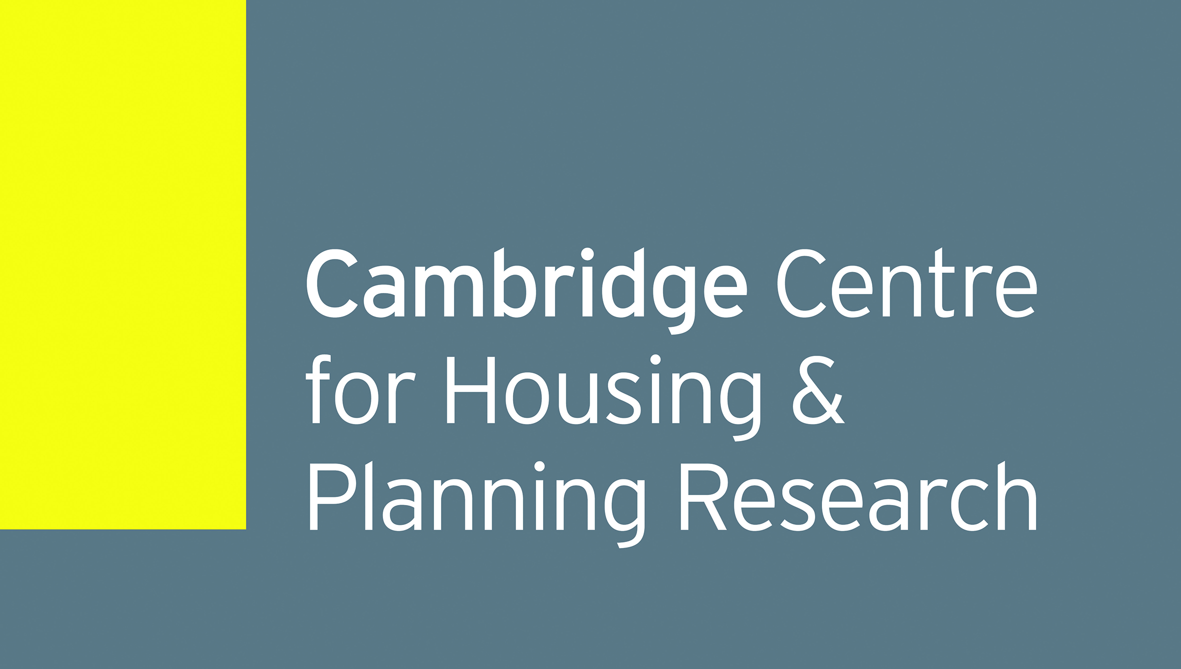 Cambridge Centre for Housing and Planning Research Logo
