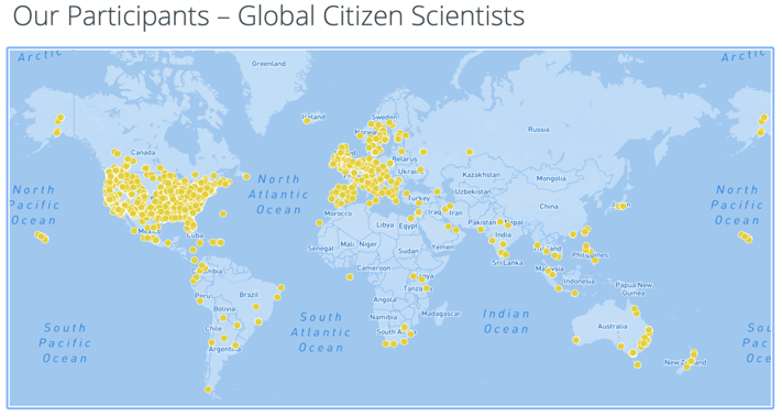 Global Citizen Scientists