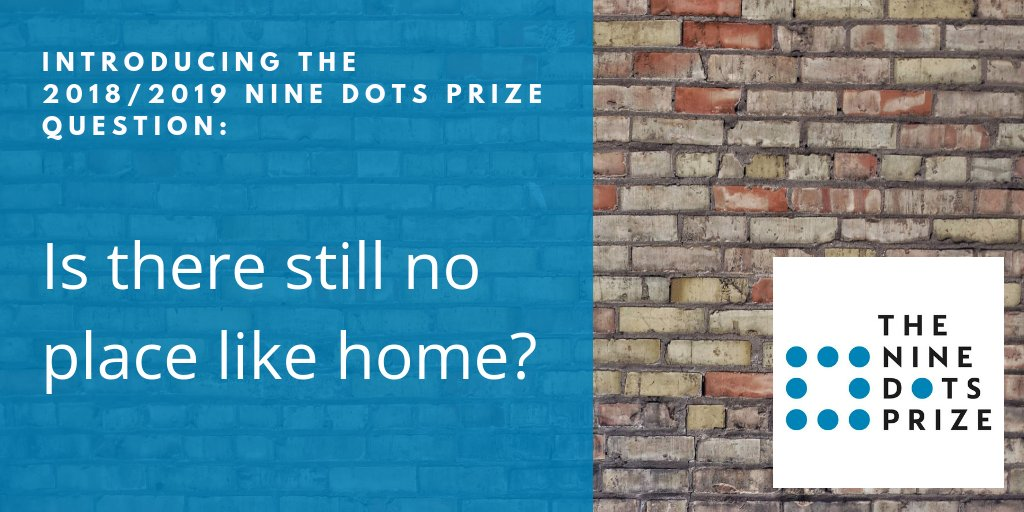 Submissions Open for the US$100,000 Nine Dots Prize – CRASSH